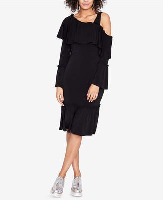 Rachel Roy One-Shoulder Flounce Dress, Created for Macy's