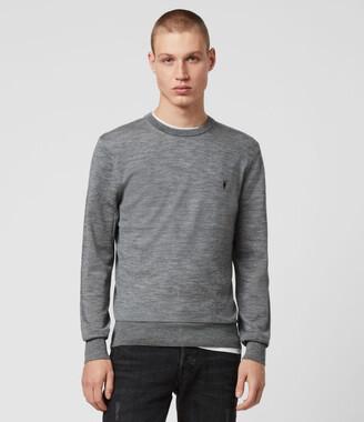AllSaints Mode Merino Crew Sweater