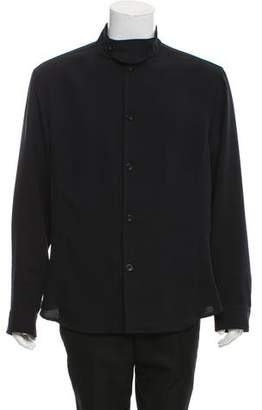 Armani Collezioni Light Weight Button-Up Jacket