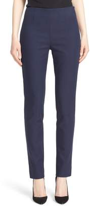Lela Rose 'Catherine' Stretch Twill Ankle Pants