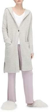 UGG Textured Plush Hooded Cardigan