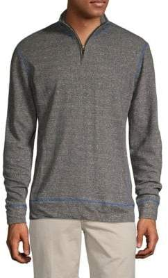 French Terry Quarter Zip Pullover