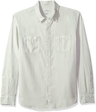 Lucky Brand Men's Casual Long Sleeve Workwear Button Down Shirt
