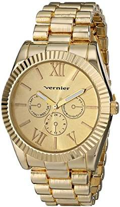 Vernier Women's VNR11169YG Analog Display Japanese Quartz Gold Watch