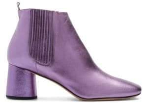 Marc Jacobs Women's Rocket Metallic Chelsea Boots - Lavender - Size 39 (9)