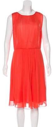Max Mara A-Line Midi Dress