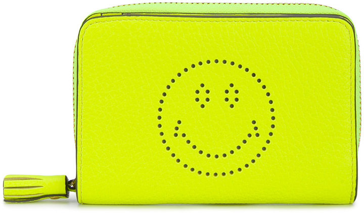 Anya Hindmarch Anya Hindmarch Smiley zip-around wallet