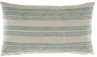 Jane Wilner Designs Bally Striped Decorative Pillow