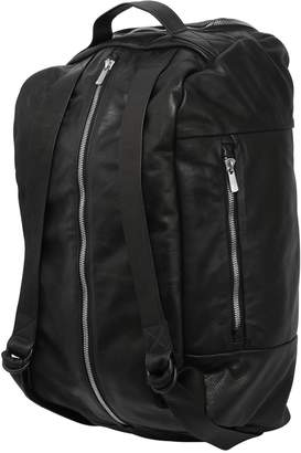 Large Smooth Leather Backpack