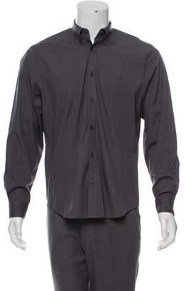 Burberry Nova-Trimmed Button-Up Shirt