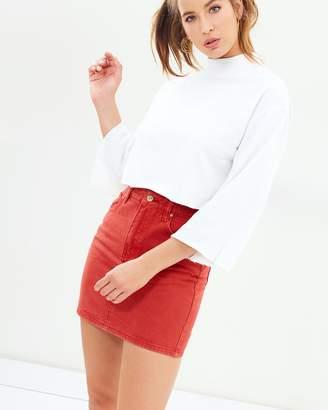 MinkPink Ignite Denim Skirt