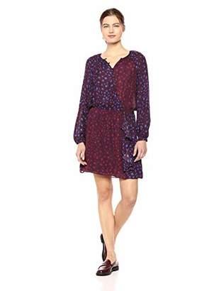 Parker Women's Shai Combo Long Sleeve Elastic Waist Dress