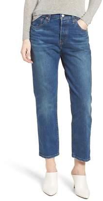 Levi's 501(R) High Waist Crop Jeans (Rebel)
