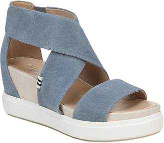 Dr. Scholl's Adjustable Strap Wedge Sandals - Scout High
