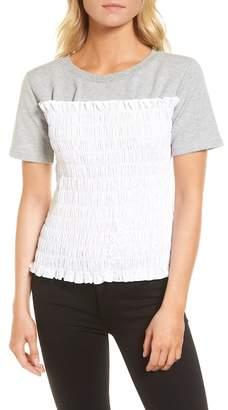 Chelsea28 Smocked Sweatshirt
