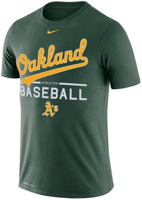 Nike Men's Oakland Athletics Practice Tee