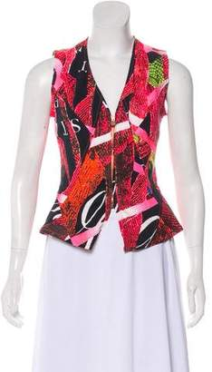 Christian Lacroix Sleeveless Zip-Up Top