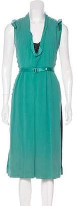 Marc Jacobs Belted Midi Dress