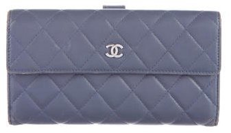Chanel Chanel Quilted Continental Wallet