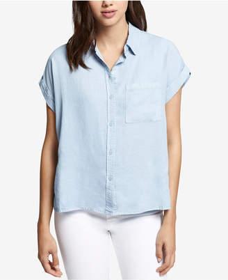 Sanctuary Cotton Boyfriend Shirt