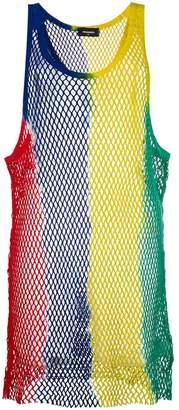 DSQUARED2 mesh shift dress