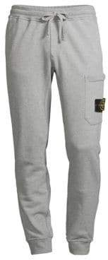 Stone Island Men's Core Fleece Joggers - Dust - Size Small