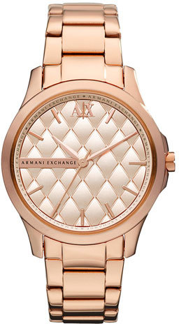 Armani Exchange Quilted Dial Watch, 36mm (Online Only)