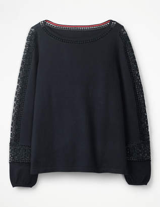 Boden Lylah Lace Sweater