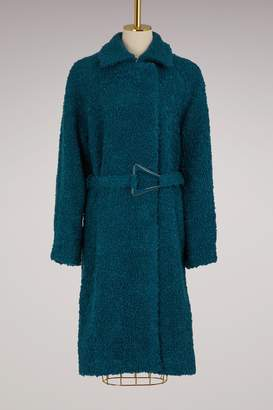 Carven Virgin Wool Coat