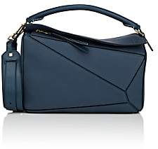 Loewe Women's Puzzle Medium Leather Shoulder Bag - Indigo