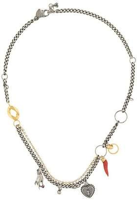 Iosselliani Puro heart necklace