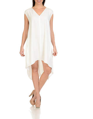 Larry Levine Sleevless High Low Dress