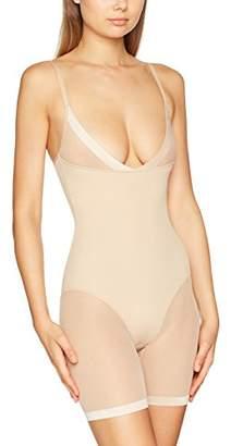 DKNY Intimates Women's Modern Lights-mesh Litewe Bodysuit,((Size: Large)