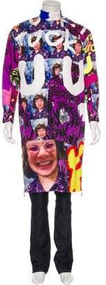 Sankuanz Printed Longline Shirt