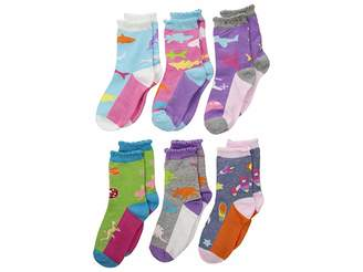 Jefferies Socks Rock Crew 6-Pack (Infant/Toddler/Little Kid)