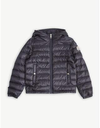 at Selfridges · Moncler Morvan stripe padded jacket 4-14 years