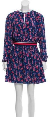Tanya Taylor Silk Long-Sleeve Dress w/ Tags