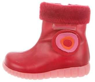 Agatha Ruiz De La Prada Girls' Leather Embellished Boots