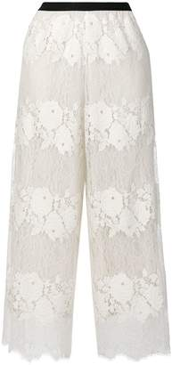 Antonio Marras cropped lace trousers