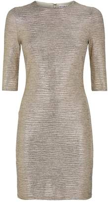 Alice + Olivia Delora Metallic Dress