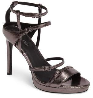 Calvin Klein Shantell Strappy Platform Sandal