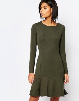 Whistles Exclusive Drop Waist Jersey Dress $154 thestylecure.com