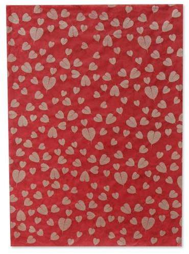 Bo Leaves Saa wrapping paper (Set of 4)