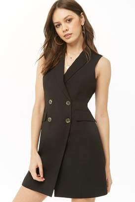Forever 21 Double-Breasted Blazer Dress