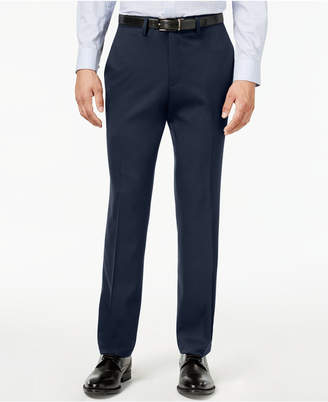 Kenneth Cole Reaction Men Slim-Fit Stretch Gabardine Dress Pants