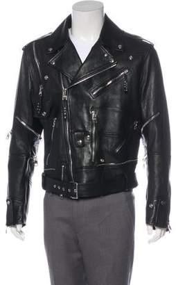 Alexander McQueen 2018 Buffalo Leather Jacket w/ Tags