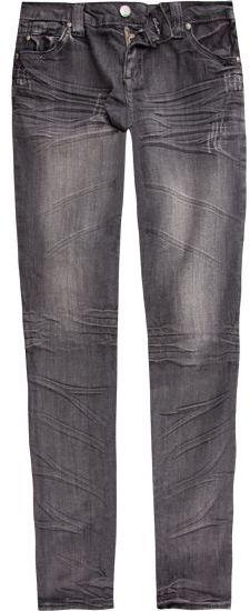 TRACTOR Vintage Bleach Girls Skinny Jeans