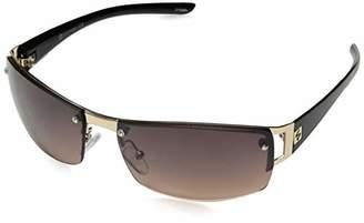 Southpole Men's 5031sp Gldbk Non-Polarized Iridium Rimless Sunglasses