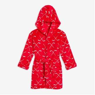 Joe Fresh Toddler Boys' Fleece Robe, Red (Size 2)