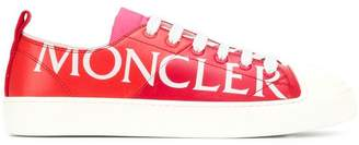 Moncler logo lace-up sneakers